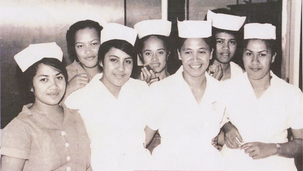 cook islands nurses